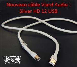 Silver HD12 USB Viard Audio